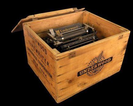 La machine à écrire